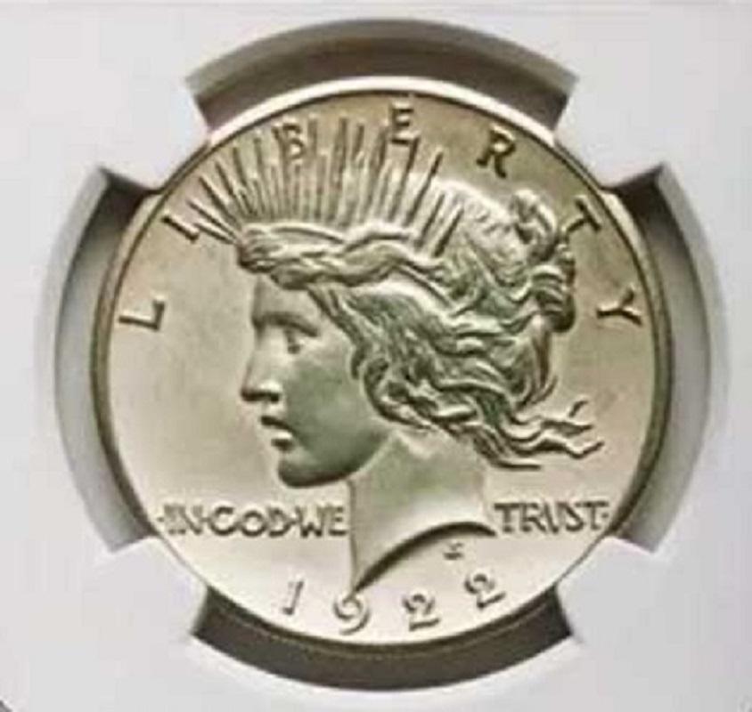 UNIKÁTNÍ Stříbrný US jedno dolar