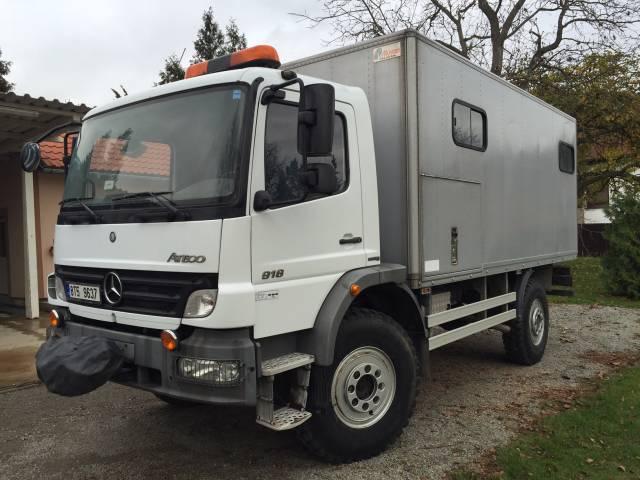Mercedes Atego 4x4 - pojízdná dílna