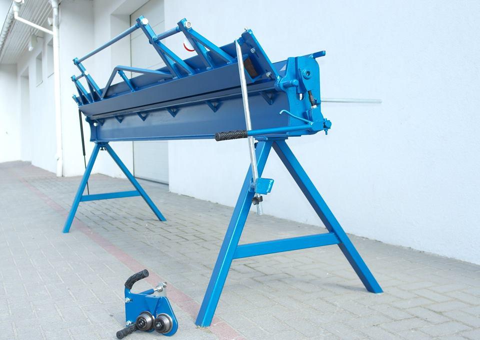 Klampiarska ohýbačka plechu 3 metre