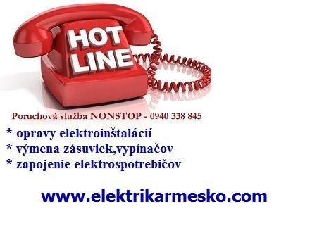 Elektrikár Bratislava Dúbravka