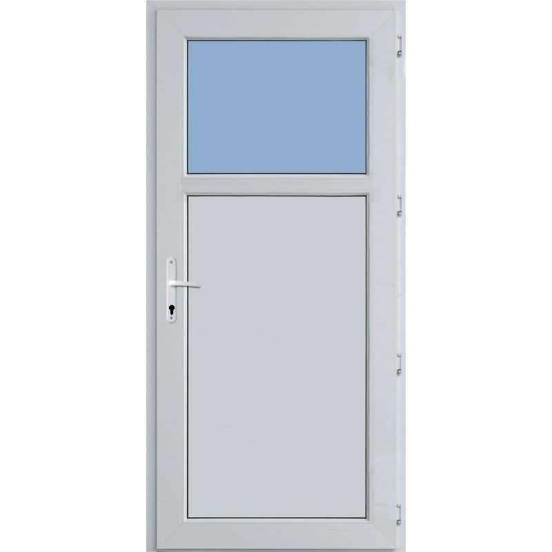Vchodové dvere plastové - lacno