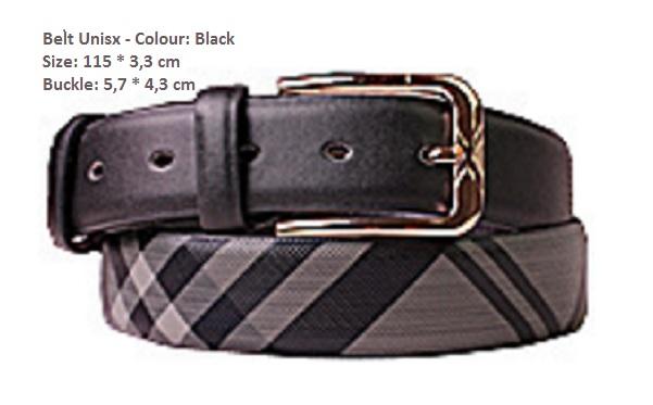 Luxusní pásek Burberry