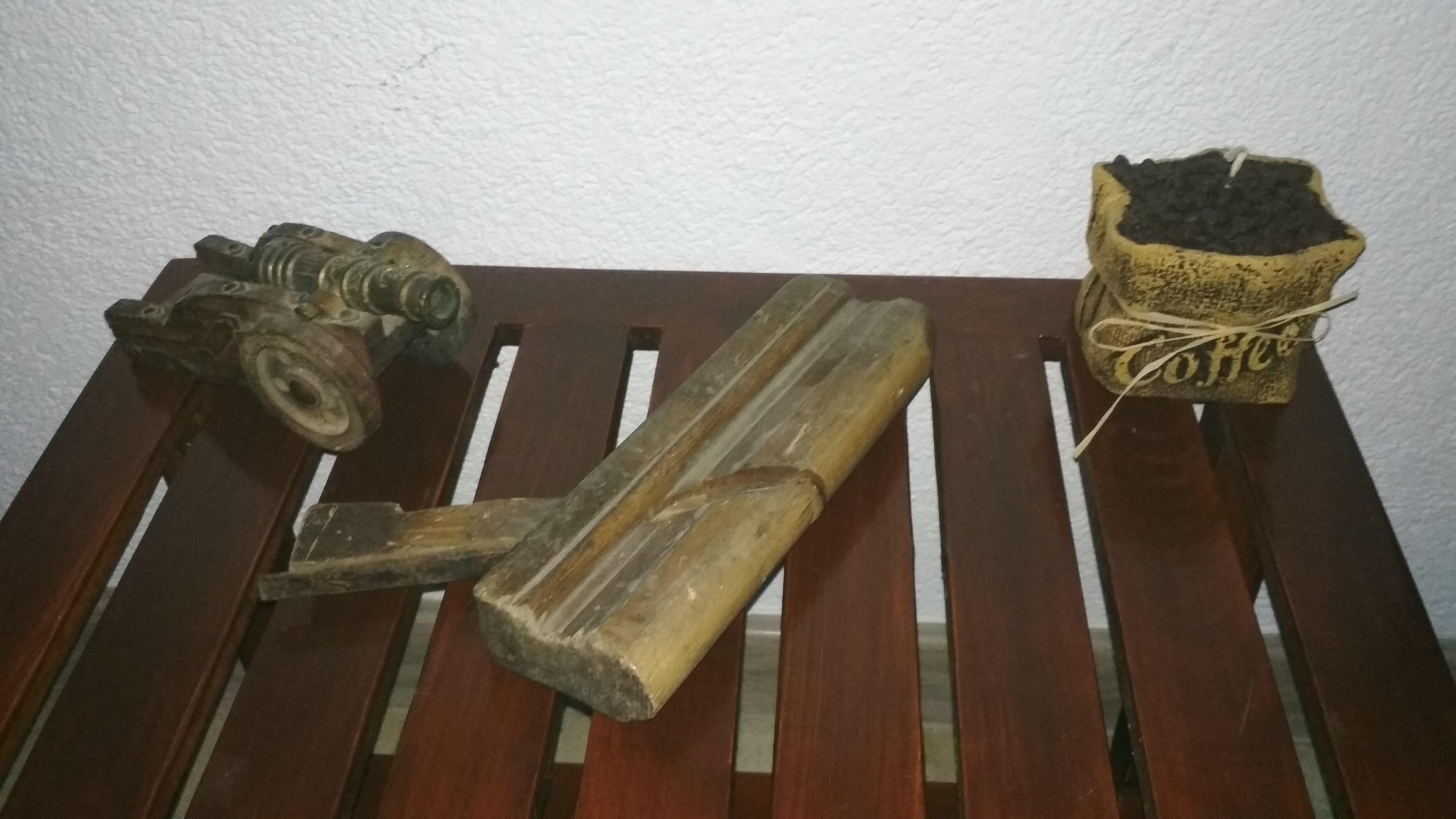 Retro Starožitný hoblík na drevo 4
