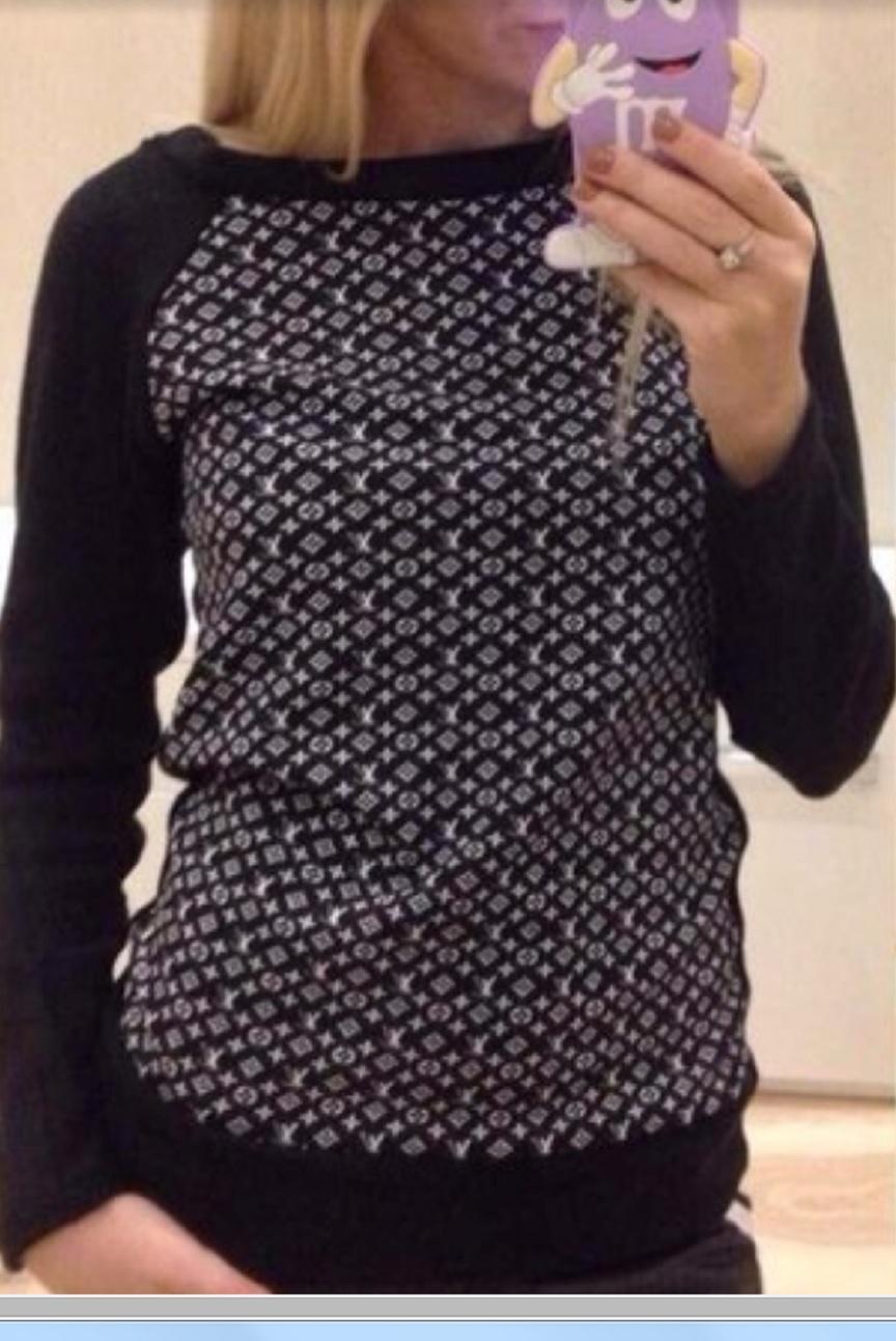 Luxusní triko - mikina