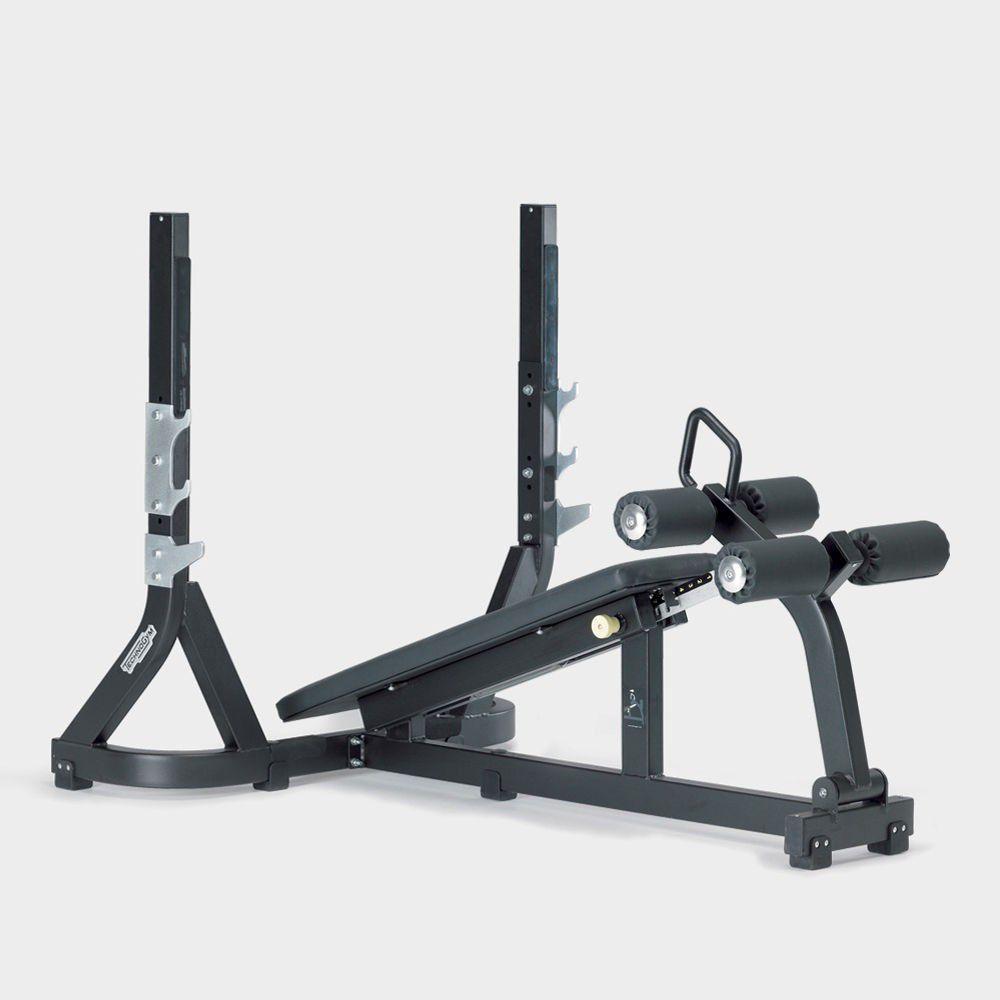 Posilovací stroj Technogym - Olympic Decline Bench Pure Strength - Repasovaný