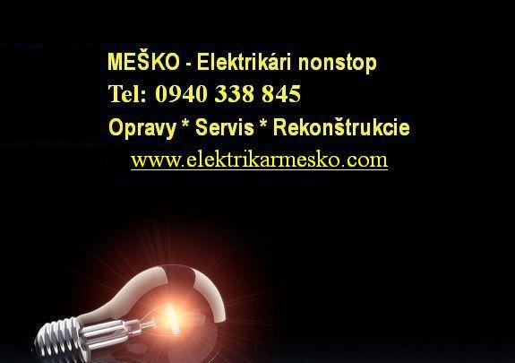 Elektrikári - poruchy nonstop