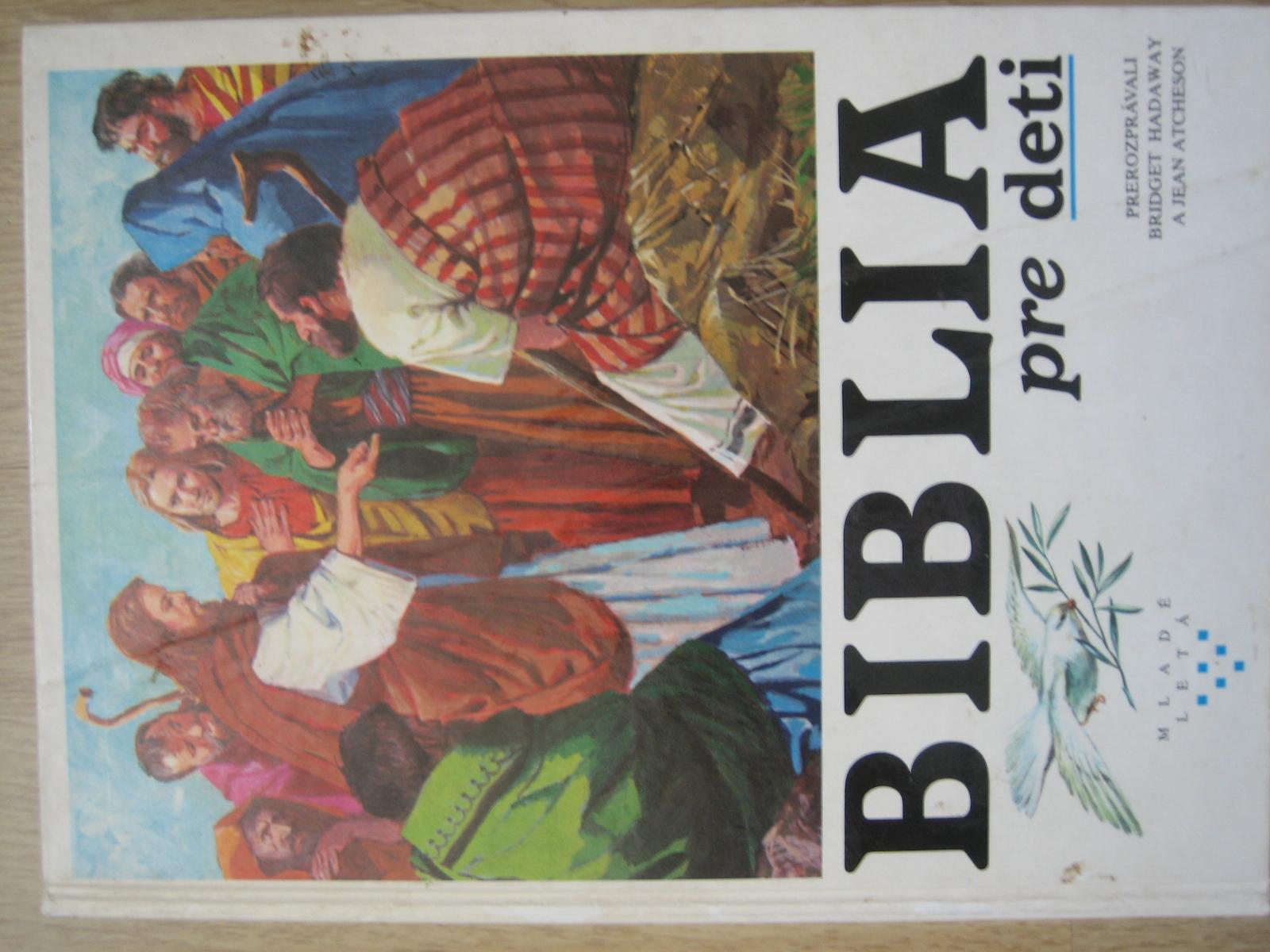 knha Biblia pre deti